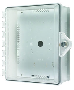STI-7520-HTR STI HEATED POLYCARBONATE ENCLOSURE - KEY LOCK ************************* SPECIAL ORDER ITEM NO RETURNS OR SUBJECT TO RESTOCK FEE *************************