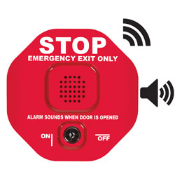 STI-6400WIR STI EMERGENCY EXIT STOPPER WIRELESS ************************* SPECIAL ORDER ITEM NO RETURNS OR SUBJECT TO RESTOCK FEE *************************
