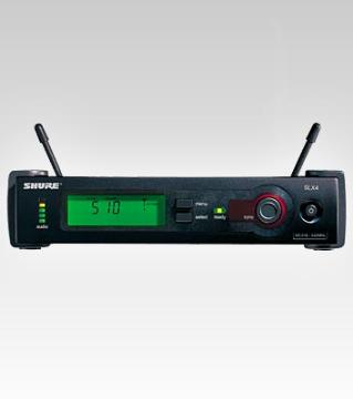 SLX14-L4 SHURE WIRELESS SYSTEM RECEIVER ************************* SPECIAL ORDER ITEM NO RETURNS OR SUBJECT TO RESTOCK FEE *************************