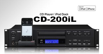 CD-200IL TASCOM PRO CD PLAYER ************************* SPECIAL ORDER ITEM NO RETURNS OR SUBJECT TO RESTOCK FEE *************************