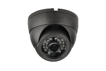 "FPS506 FOCAL POINT 1/3"" Sony Super HADII CCD (960H) IR Dome camera, 700 TVL 0LUX, 3.6mm , 75 feet IR distance, DC12V, IP66."