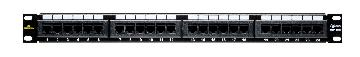 20-5624 DATACOMM CAT 6 UNIVERSAL 24 PORT PATCH PANEL ************************* SPECIAL ORDER ITEM NO RETURNS OR SUBJECT TO RESTOCK FEE *************************