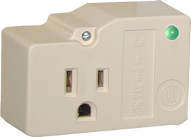 DTK-1F DITEK SINGLE OUTLET W/ RETENTION SCREW