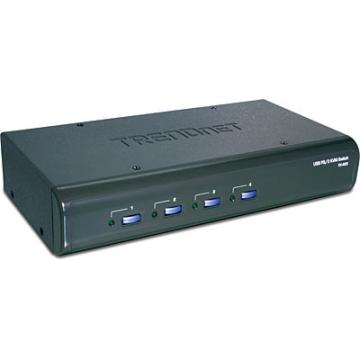 TK-423K TRENDNET 4-port USB/PS2 KVM Switch w/Audio, 4 SETS OF CABLES ARE INCLUDED ************************* SPECIAL ORDER ITEM NO RETURNS OR SUBJECT TO RESTOCK FEE *************************