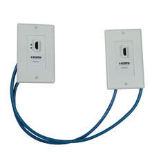 P167-000 TRIPPLITE HDMI OVER CAT5 WALLPLATE EXTENSION KIT