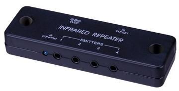 280751 VANCO IR KIT 1 CONNECTING BLOCK 1 IR RX 2 IR EMITTERS 1 5V DC P/S