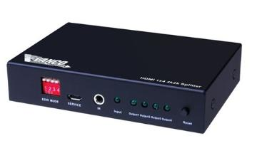 280704 VANCO HDMI 1X4 SPLITTER WITH IR CONTROL ************************* SPECIAL ORDER ITEM NO RETURNS OR SUBJECT TO RESTOCK FEE *************************