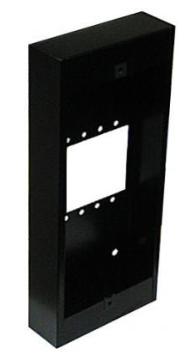 "OH600S ALPHA SURFACE BACK BOX--11.5""--BLACK"