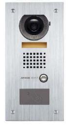 AX-DVF-P AIPHONE FLUSH VANDAL VIDEO DOOR W/HID