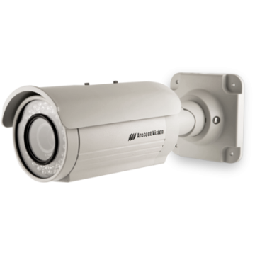 AV1125IRv1X ARECONT 1.3 Megapixel H.264/MJPEG IP All-In-One Camera, 4.5-10mm Megapixel Varifocal Lens, IP66 Weatherproofing, Integrated 3-Axis Mount, 12VDC/24VAC Heater, Day/Night with IR LED Array, 42fps ************************* SPECIAL ORDER ITEM NO RETURNS OR SUBJECT TO RESTOCK FEE *************************