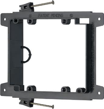 LVN2 ARLINGTON 2-GANG NAIL ON LOW VOLTAGE MOUNTING BRACKET FOR (5O PACK)
