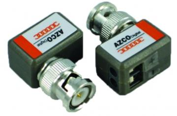 AZBLN203 AZCO 1 CHANNEL PASSIVE VIDEO BALUN - MINI - PAIR SB1011 ************************* SPECIAL ORDER ITEM NO RETURNS OR SUBJECT TO RESTOCK FEE *************************