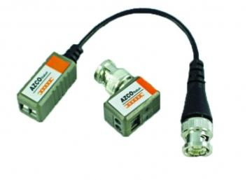 AZBLN204 AZCO 1 CHANNEL PASSIVE VIDEO BALUN ( 1 Pigtail & 1 Mini ) ************************* SPECIAL ORDER ITEM NO RETURNS OR SUBJECT TO RESTOCK FEE *************************