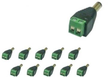 AZCC301 AZCO CAMERA POWER CONNECTION - 10 PACK