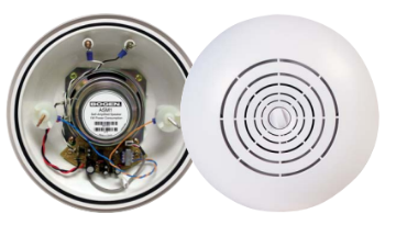 ASM1 BOGEN SELF AMPLIFIED SURFACE MOUNT SPEAKER WHITE ************************* SPECIAL ORDER ITEM NO RETURNS OR SUBJECT TO RESTOCK FEE *************************