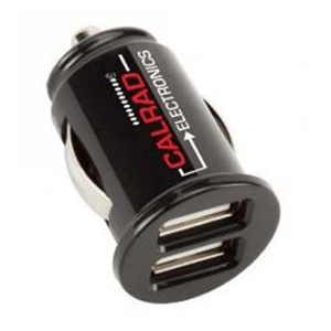 42-CAR-3 CALRAD DUAL USB CAR CIGARETTE ADAPTER