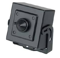 "CG36WD WIDE DYNAMIC MINI CAMERA 1/3"" DUAL SCAN SONY CCD SENSOR 560TVL OSD,0.1 - 0.001 LUX DC12V 3.7MM PINHOLE"