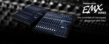 EMX5014C YAMAHA 14 CH POWERED SOUND AUDIO MIXER W/500W + 500W STERIO AMP ************************* SPECIAL ORDER ITEM NO RETURNS OR SUBJECT TO RESTOCK FEE *************************