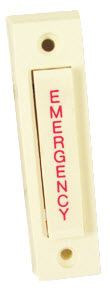 AES-1 POTTER EMERGENCY PUSH BUTTON SWITCH - IVORY