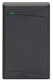 P325W26 KANTECH IOPROX READER, 26-BIT WIEGAND, SINGLE GANG SIZE, UP TO 20.5 CM (8 IN) READ RANGE, BLACK