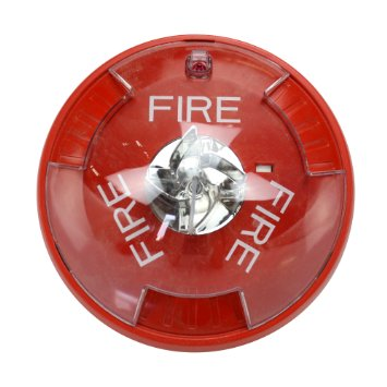 WHSTRC WHEELOCK STR, RED, 2W, CEILING, 12/24V, 8CD ************************* SPECIAL ORDER ITEM NO RETURNS OR SUBJECT TO RESTOCK FEE *************************