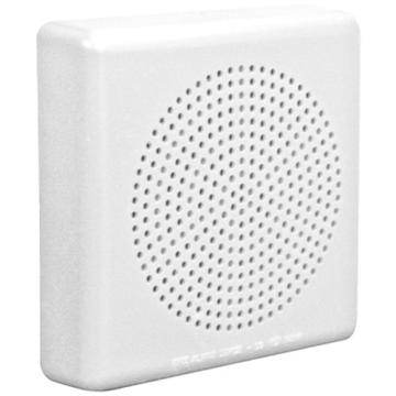 """WHE50-W WHEELOCK E50 SPEAKER ONLY TAP 1/8-2W SURFACE MOUNT ON 4"""" SQ BOX ************************* SPECIAL ORDER ITEM NO RETURNS OR SUBJECT TO RESTOCK FEE *************************"""