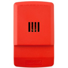 WHLHNR3 WHEELOCK EXCEDER HORN ONLY RED ************************* SPECIAL ORDER ITEM NO RETURNS OR SUBJECT TO RESTOCK FEE *************************