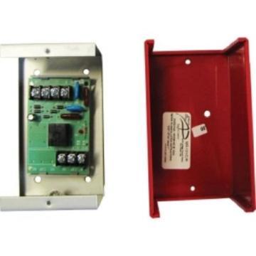 FLMR-101/CR FIRE-LITE SPDT RELAY W/LED, BACKBOX, RED COVER