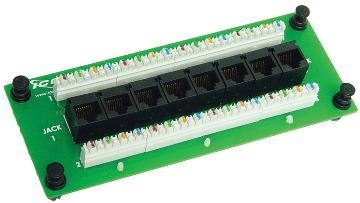 ICRESDPA3C ICC COMPACT MODULE, CAT 5E DATA, 8-PORT
