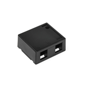 LEV41089-2EP LEVITON 2 PORT SURFACE MOUNT HOUSING-BLACK ************************* SPECIAL ORDER ITEM NO RETURNS OR SUBJECT TO RESTOCK FEE *************************