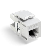 LEV61110-RW6 LEVITON CAT 6 QUIKPORT JACK - WHITE ************************** CLEARANCE ITEM- NO RETURNS *****ALL SALES FINAL****** **************************