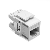 LEV5G110-RW5 LEVITON CAT5E INSERT GIGIMAX WHITE ************************* SPECIAL ORDER ITEM NO RETURNS OR SUBJECT TO RESTOCK FEE *************************