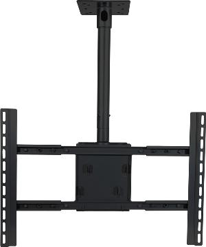 """VMPPDS-LCB VMP 37"""" - 63"""" FLAT PANEL CEILING MNT - BLK ************************* SPECIAL ORDER ITEM NO RETURNS OR SUBJECT TO RESTOCK FEE *************************"""