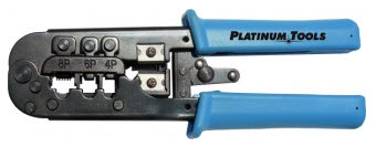 12503C PLATINUM All-IN-ONE MODULAR PLUG CRIMP TOOL. CLAMSHELL.