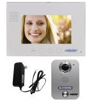 VK237WS ALPHA TWO WIRE VIDEO INTERCOM KIT - EXPANDABLE TO 3 MONITORS AND 2 DOOR STATIONS