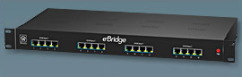 EBRIDGE16PCRX ALTRONIX 16-Port Ethernet/PoE or PoE+ over coax receiver. Supports IP video/data/PoE or PoE+ over coax up to 1,500 ft. Compatible with eBridge1PCT, eBridge1PCTX and devices incorporating sloc technology. UL/cUL Listed (UL60950-1). CE Approved. ************************* SPECIAL ORDER ITEM NO RETURNS OR SUBJECT TO RESTOCK FEE *************************