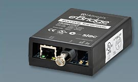 EBRIDGE1PCT ALTRONIX eBridge plus - Ethernet/PoE over coax transceiver module. Supports IP video/data/PoE over coax up to 1,500 ft. Compatible with eBridge1PCR. UL/cUL Listed (UL60950-1). CE Approved. C-Tick Compliant. ************************* SPECIAL ORDER ITEM NO RETURNS OR SUBJECT TO RESTOCK FEE *************************