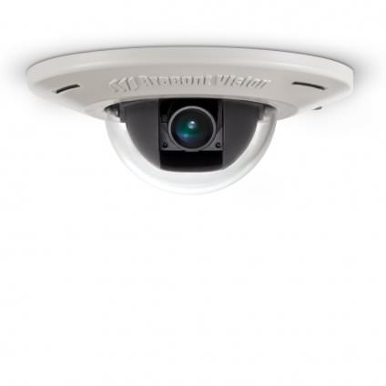 AV2456DN-F ARECONT 1080p MicroDome, WDR, Day/Night, 1920x1080, 30 fps, MJPEG/H.264, 4mm Fixed Lens, In-ceiling Flush Mount, Indoor, IK-10, Microphone, PoE ************************* SPECIAL ORDER ITEM NO RETURNS OR SUBJECT TO RESTOCK FEE *************************