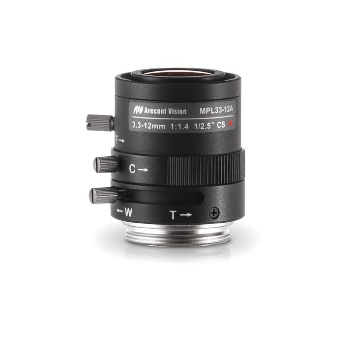 MPL3312A ARECONT 3.3-12MM CS M OUNT LENS IR CORRECTED ************************* SPECIAL ORDER ITEM NO RETURNS OR SUBJECT TO RESTOCK FEE *************************