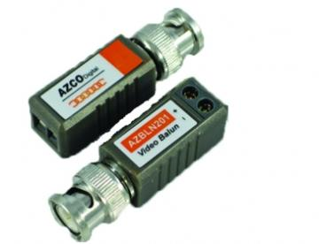 AZBLN201 AZCO 1 CHANNEL PASSIVE VIDEO BALUN (pair) ************************* SPECIAL ORDER ITEM NO RETURNS OR SUBJECT TO RESTOCK FEE *************************