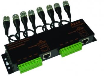AZBLNP108C AZCO 8 CHANNEL PASSIVE VIDEO BALUN W/ CABLE LEADS ************************* SPECIAL ORDER ITEM NO RETURNS OR SUBJECT TO RESTOCK FEE