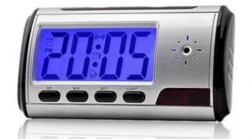 AZCAM-ALARM AZCO Alarm Clock with Covert Camera - Uses MicroSD Card ************************* SPECIAL ORDER ITEM NO RETURNS OR SUBJECT TO RESTOCK FEE *************************