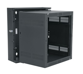 DWR-12-26 MIDATL 12 SPACE (21) DATA WALL RACK, FITS 24 DEEP EQUIP., BLACK FINISH ************************* SPECIAL ORDER ITEM NO RETURNS OR SUBJECT TO RESTOCK FEE *************************