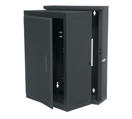 EWR-16-22SD MIDATL 16 SPACE (28 ) ECONO SECTIONAL WALL RACK WITH SOLID FRONT DOOR, FITS 20 DEEP EQUIP., BLACK FINISH ************************* SPECIAL ORDER ITEM NO RETURNS OR SUBJECT TO RESTOCK FEE *************************