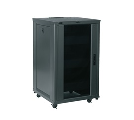 RCS-1824 MIDATL RESIDENTIAL RACK SYSTEM, RACK INCLUDES: 18 RACK SPACES, 3 SHELVES, LOCKING GLASS DOOR, CASTERS, 2 FANS ************************* SPECIAL ORDER ITEM NO RETURNS OR SUBJECT TO RESTOCK FEE *************************