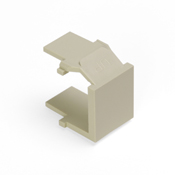 LEV41084-BI LEVITON QUICKPORT SNAP-IN BLANK MODULE - IVORY ************************* SPECIAL ORDER ITEM NO RETURNS OR SUBJECT TO RESTOCK FEE *************************