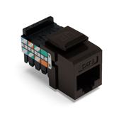 LEV41108-RB5 LEVITON CAT 5 8 CONDUCTOR KEYSTONE INSERT BROWN ************************* SPECIAL ORDER ITEM NO RETURNS OR SUBJECT TO RESTOCK FEE *************************