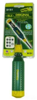 D151 LHDOT 15 IN 1 SCREWDRIVER GREEN / YELLOW