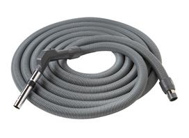 CH235 NUTONE CENTRAL VACUUM LOW VOLTAGE CRUSHPRROF HOSE - 30' FEATURES SWIVEL HANDLE
