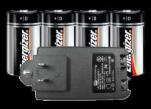 PP4 VIDEOFIED 12V DC Power Adapter w/ 4 E95 VP